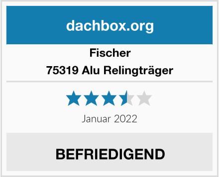 Fischer 75319 Alu Relingträger Test