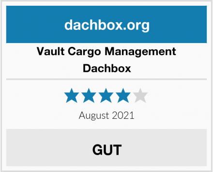 Vault Cargo Management Dachbox Test