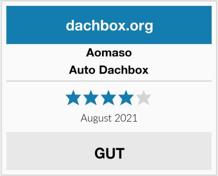 Aomaso Auto Dachbox Test