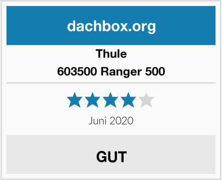 Thule 603500 Ranger 500 Test