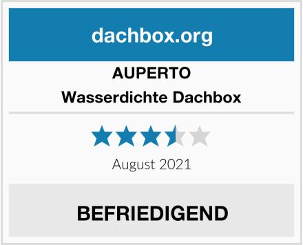 AUPERTO Wasserdichte Dachbox Test