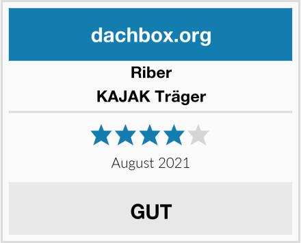 Riber KAJAK Träger Test
