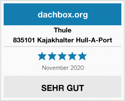 Thule 835101 Kajakhalter Hull-A-Port  Test