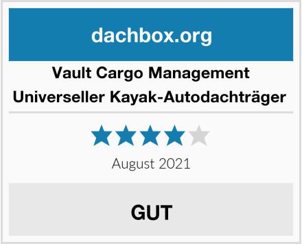 Vault Cargo Management Universeller Kayak-Autodachträger  Test