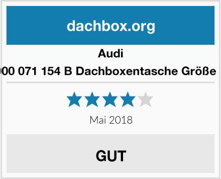 Audi 000 071 154 B Dachboxentasche Größe L Test