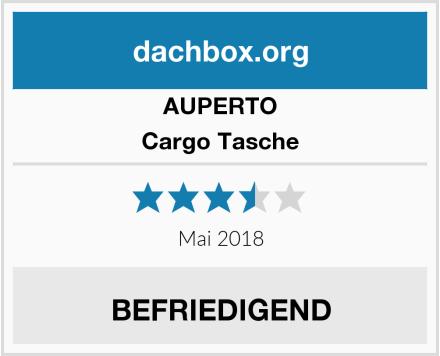 AUPERTO Cargo Tasche Test