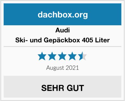 Audi Ski- und Gepäckbox 405 Liter Test