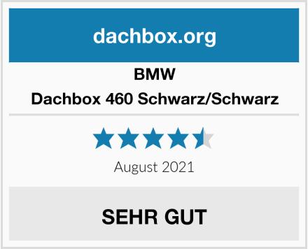 BMW Dachbox 460 Schwarz/Schwarz Test