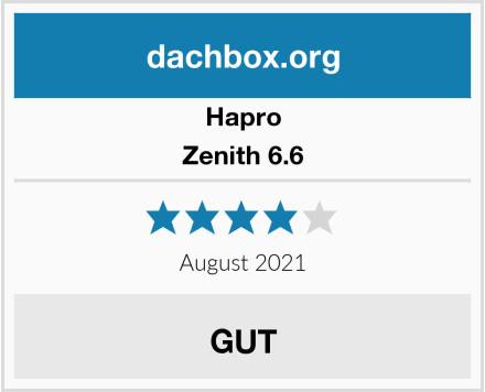 Hapro Zenith 6.6 Test