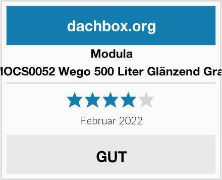 Modula MOCS0052 Wego 500 Liter Glänzend Grau Test