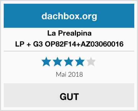 La Prealpina LP + G3 OP82F14+AZ03060016 Test
