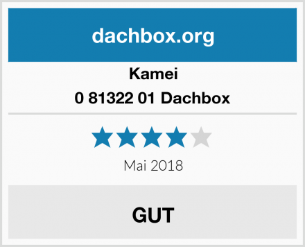 Kamei 0 81322 01 Dachbox Test