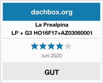 La Prealpina LP + G3 HO16F17+AZ03060001 Test