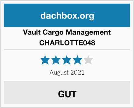 Vault Cargo Management CHARLOTTE048 Test