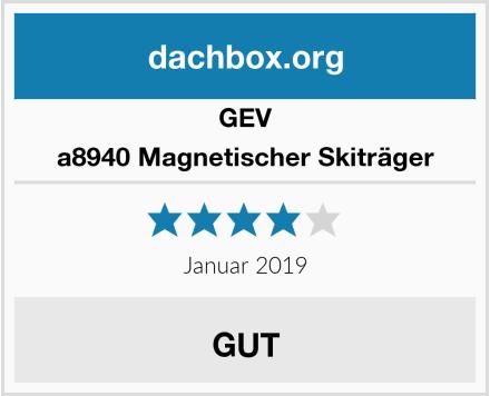 GEV a8940 Magnetischer Skiträger Test