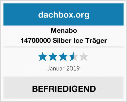 Menabo 14700000 Silber Ice Träger Test