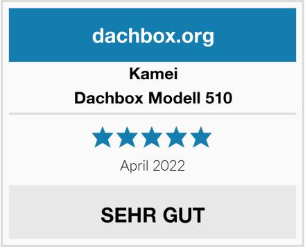 Kamei Dachbox Modell 510 Test