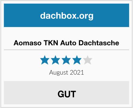 Aomaso TKN Auto Dachtasche Test