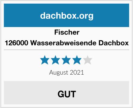 Fischer 126000 Wasserabweisende Dachbox Test