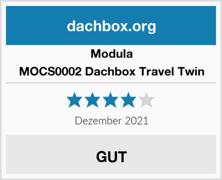 Modula MOCS0002 Dachbox Travel Twin Test