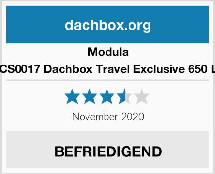 Modula MOCS0017 Dachbox Travel Exclusive 650 Liter Test