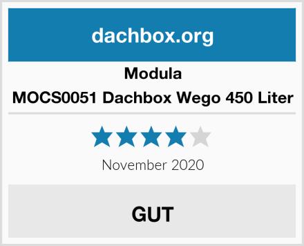 Modula MOCS0051 Dachbox Wego 450 Liter Test