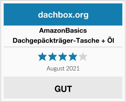 AmazonBasics Dachgepäckträger-Tasche + Öl Test