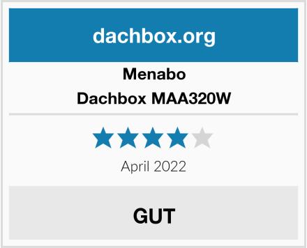 Menabo Dachbox MAA320W Test