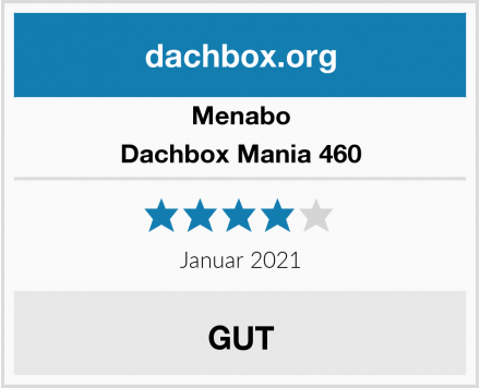 Menabo Dachbox Mania 460 Test
