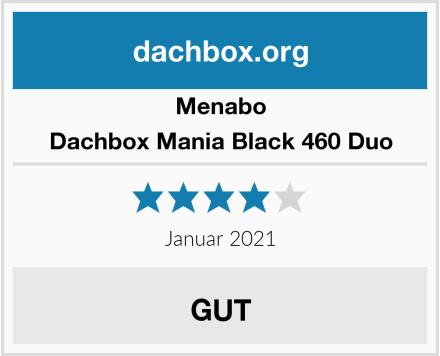 Menabo Dachbox Mania Black 460 Duo Test