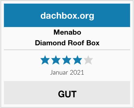 Menabo Diamond Roof Box Test