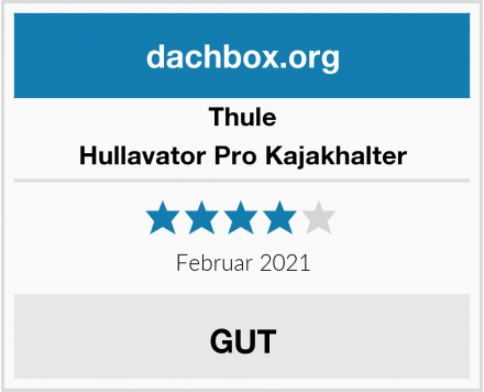 Thule Hullavator Pro Kajakhalter Test