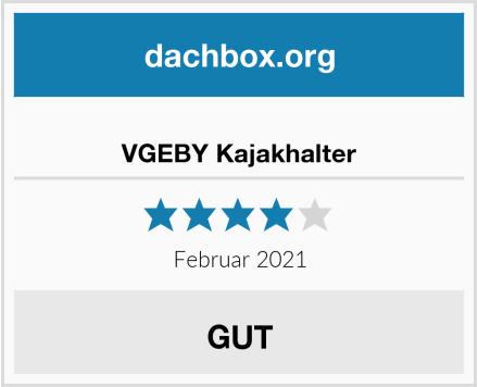 VGEBY Kajakhalter Test
