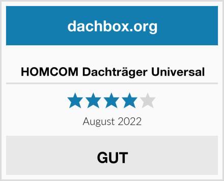 HOMCOM Dachträger Universal Test
