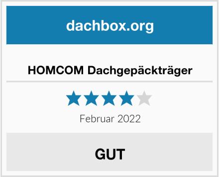 HOMCOM Dachgepäckträger Test