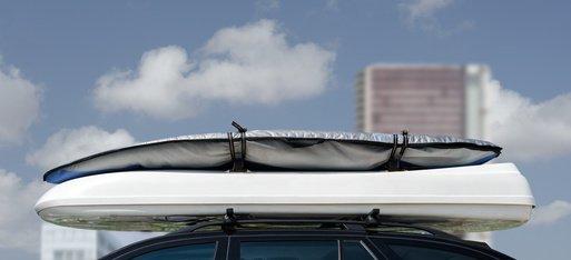 09-13 4T/ürer Dachtr/äger K1 MEDIUM kompatibel mit Seat Leon II Dachbox VDPMAA320 320 Liter abschlie/ßbar schwarz matt 1P