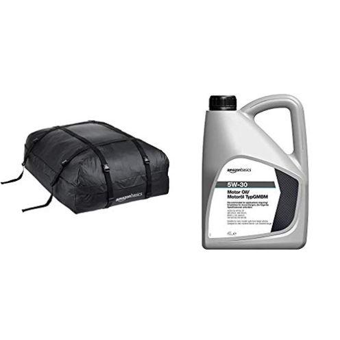 AmazonBasics Dachgepäckträger-Tasche + Öl